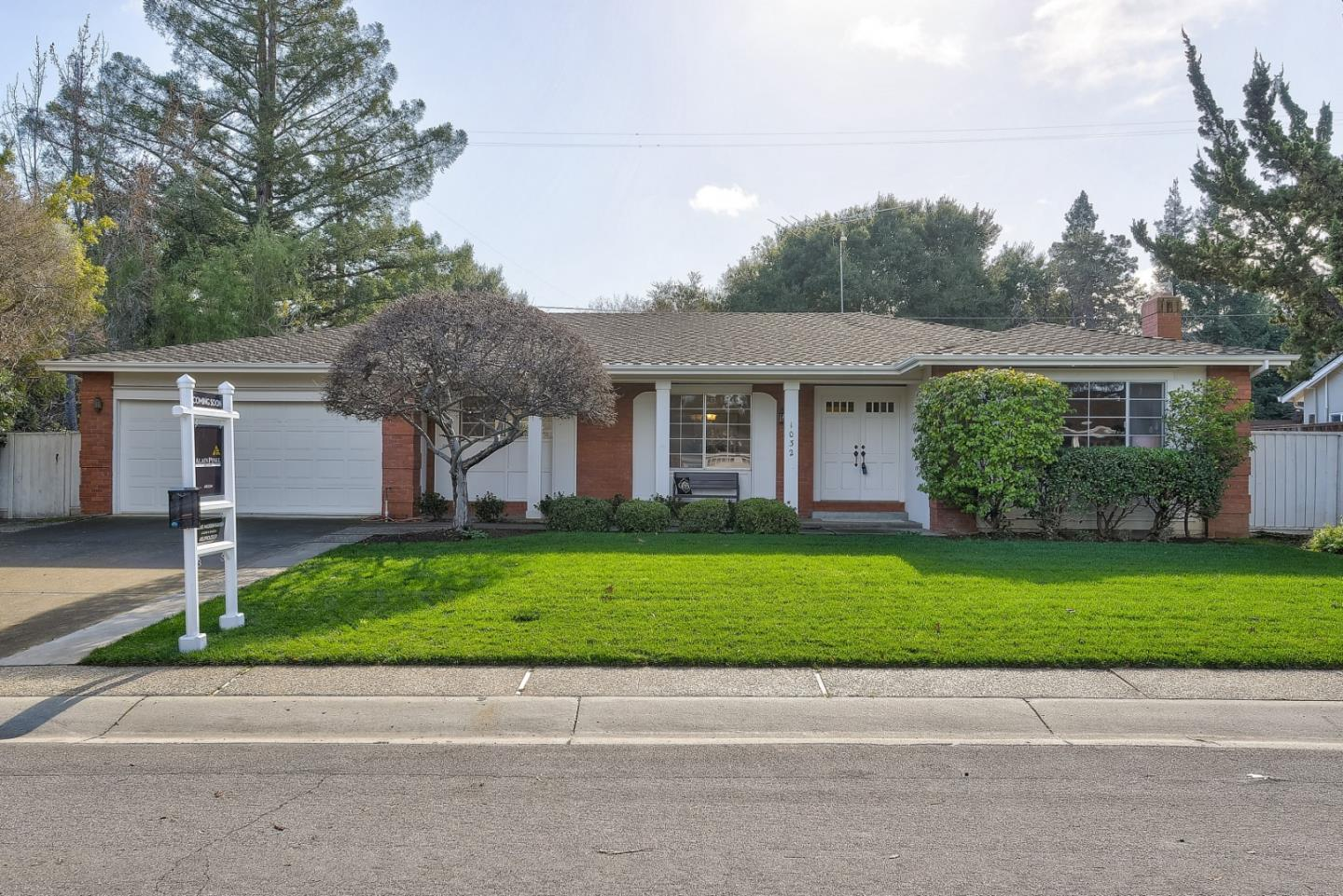 This is a fabulous chance to get into a highly sought after neighborhood in South Los Altos to create your dream home.  5 bedrooms, 2 ½ baths, a great single story floor plan. County records show it to be a 4 bedroom home, but at the time of construction in 1968, another bedroom was added. The owner passed away two years ago (not in the home) and was the only owner. While much of it is still in original condition, the opportunity to put one's footprint on it has endless opportunities.   Freshly painted with new flooring throughout, as well as updated lighting, hardware, toilets, and oven. The popcorn ceilings have been encased, the front yard completely re-landscaped, and waterline to the home from the street replaced.   Great location with easy access to the highly ranked Oak Grammar School, Blach Junior High and Mountain View High, as well as freeways, parks, and shopping.